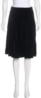14e9d187aff4 Pre-Owned at TheRealReal · Celine Velvet A-Line Skirt