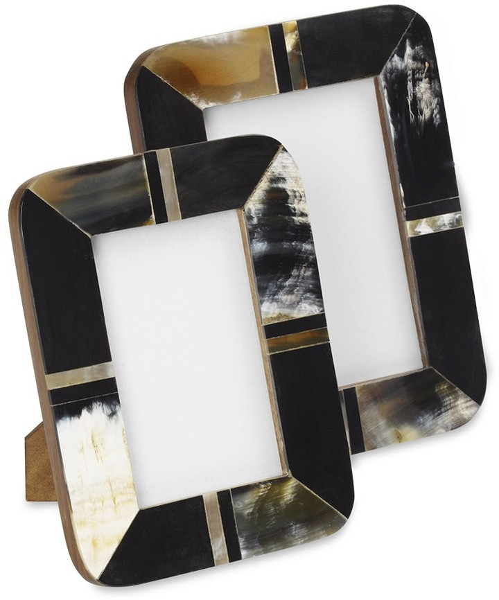 Williams-Sonoma Horn Mosaic Picture Frame