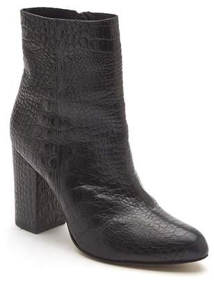 Matisse Amore Reptile Embossed Leather Bootie