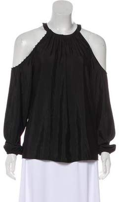 Ramy Brook Cold Shoulder Blouse
