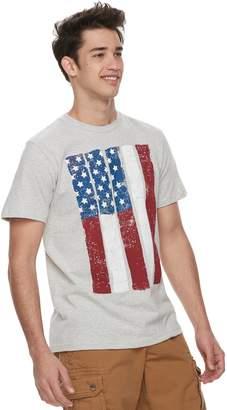 Men's Urban Pipeline American Flag Tee