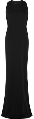 Rick Owens - Cotton-jersey Maxi Dress - Black $455 thestylecure.com