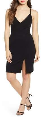 Leith V-Neck Body-Con Dress