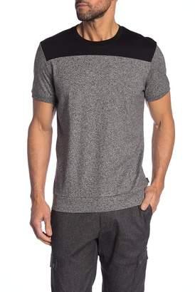 Calvin Klein Short Sleeve Stripe Crew Neck Shirt