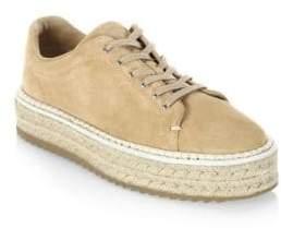 Rag & Bone Kent Suede Espadrille Platform Sneakers