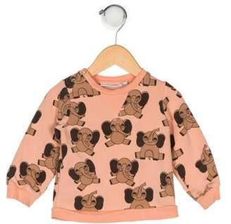 Mini Rodini Girls' Printed Sweater