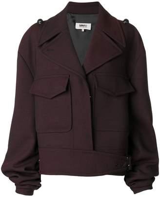 MM6 MAISON MARGIELA gathered sleeve jacket