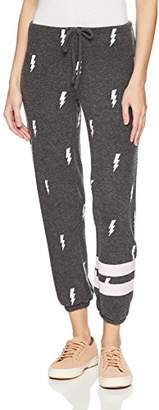 Chaser Women's Love Knit Sleepwear Drawstring Slouchy Pant