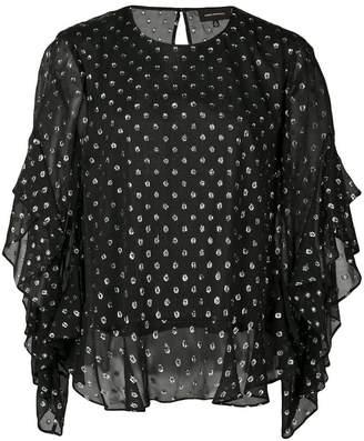 Robert Rodriguez Studio Camille chiffon blouse