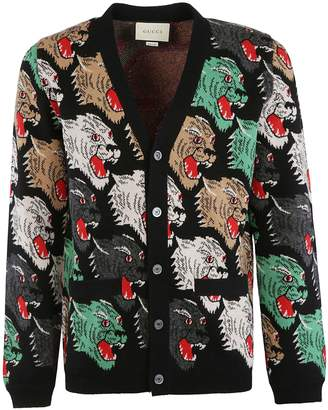 Gucci Angry Cat Cardigan