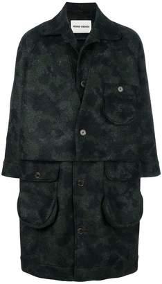 Henrik Vibskov camouflage print coat