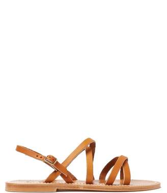 K. Jacques Talara Leather Sandals - Womens - Tan
