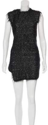 Celine Textured Mini Dress