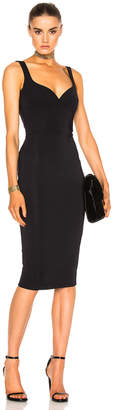 Victoria Beckham Dense Rib Cami Curve Fitted Dress