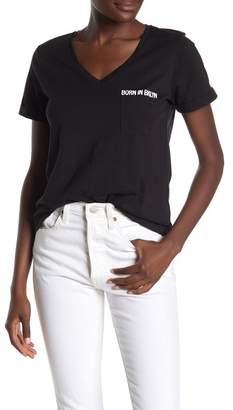bf6c035d9 525 America Born In Brooklyn V-Neck T-Shirt