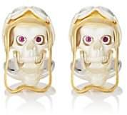Deakin & Francis Men's Aviator Skull Cufflinks - Gold