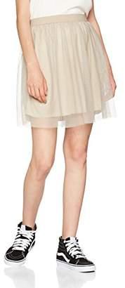 Only Women's Onlfiona Short Tulle Wvn Skirt,(Manufacturer Size: 42)