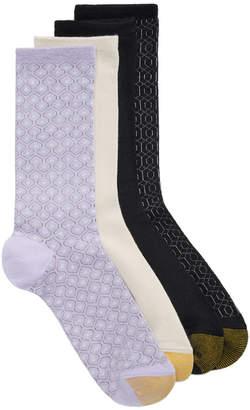 Gold Toe Women's 4-Pk. Geo Repeat Socks