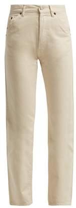 Jacquemus - Le Jean Straight Leg Jeans - Womens - Cream