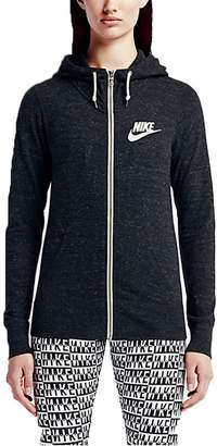 Nike Girl'portwear Gym Vintage Full Zip Hooie (Anthracite/ail)mall