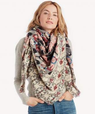 Sole Society Baroque Pattern Scarf