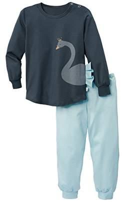 Calida Girl's Swan Love Pyjama Sets,(Manufacturer Size: 80 cm)