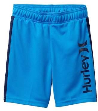 Hurley Logo Mesh Shorts (Little Boys)