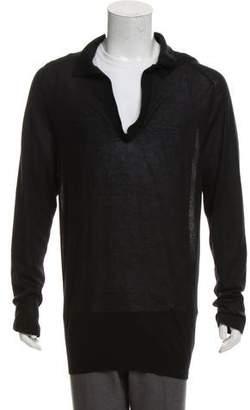 Bottega Veneta Cashmere Polo Sweater
