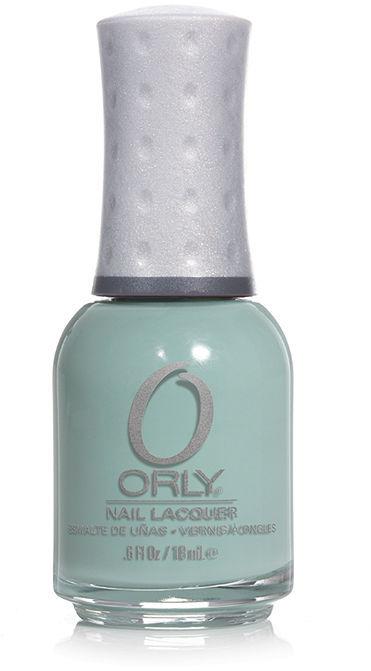 Orly Cool Romance Nail Lacquer, Faint of Heart Gray crème 0.6 fl oz (18 ml)