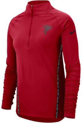 Nike Women's Atlanta Falcons Element Core Half-Zip Pullover