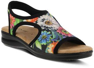 FLEXUS Flexus Nyaman-Bouquet Womens Flat Sandals