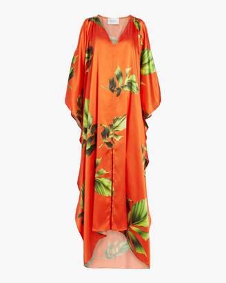 Recreo San Miguel Carolina Silk Satin Kimono