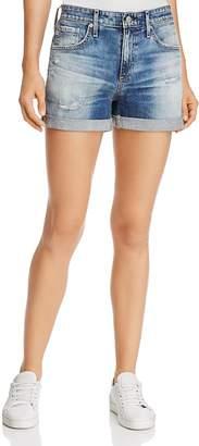 AG Jeans Hailey Ex-Boyfriend Roll-Up Denim Shorts in 15 Years Undercool