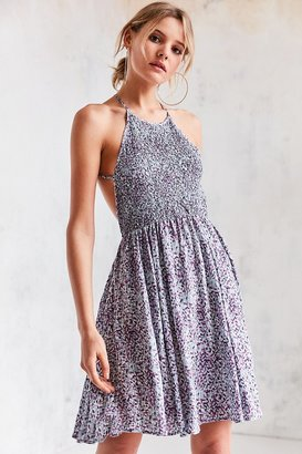 Kimchi Blue Verlina Smocked Bodice Mini Dress $69 thestylecure.com