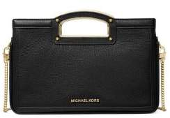 MICHAEL Michael Kors Berkley Legacy Large Leather Clutch Crossbody