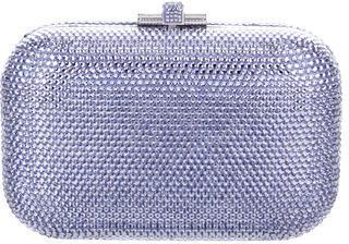 Judith Leiber Rhinestone-Embellished Minaudière $595 thestylecure.com