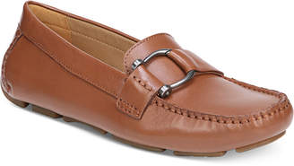 8042382b197 Cognac Leather Loafers Women - ShopStyle