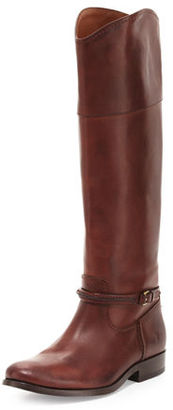 Frye Melissa Seam Leather Knee Boot $428 thestylecure.com