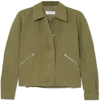 a18a3c47 Rag & Bone Fleet Cotton-canvas Jacket - Green