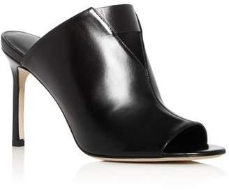 Via Spiga Women's Mira Leather High-Heel Slide Sandals