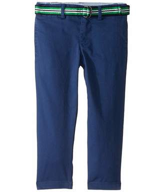Polo Ralph Lauren Belted Stretch Skinny Chino (Toddler)