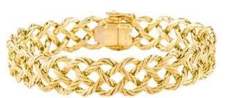 Buccellati 18K Crepe De Chine Four Row Bracelet