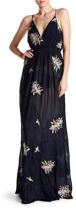 Haute Hippie In the Cards Embroidered Gown
