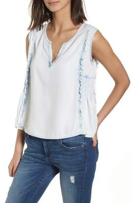 DL1961 Mulberry St Chambray Top
