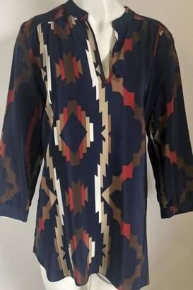 Amanda Uprichard Printed V-Neck Tunic
