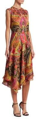 Etro 50th Anniversary Printed A-Line Dress