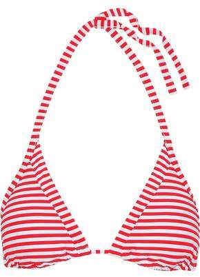 Seafolly Striped Triangle Bikini Top