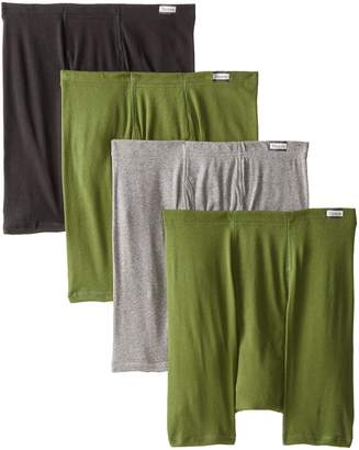 Hanes Men's 4 Pack FreshIQ Boxer Brief with ComfortSoft Waistband