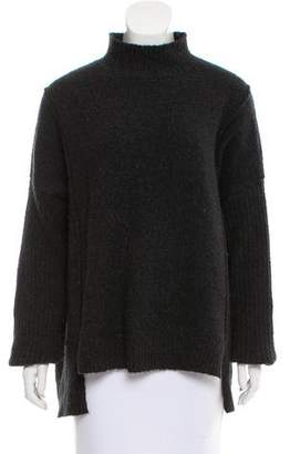 Line Oversize Knit Sweater