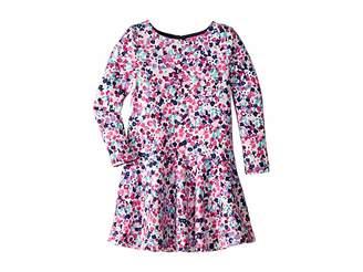 Joules Kids Mock Layer Dress (Toddler/Little Kids/Big Kids)